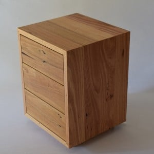 | Dice Bedside Table | Reclaimed Australian Hardwood Timber | Natural Oil & Wax Finish | POA |