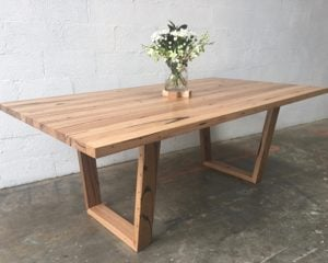 | Ronan Dining Table | Reclaimed Australian Hardwood Timber | Natural Oil & Wax Finish | Timber Legs | Length 2000mm x Width 1100 x Height 750mm | Timber Thickness 40mm approx | $2,844 |