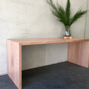 | Custom Eyre Desk | Tasmanian Oak Timber | Natural Oil & Wax Finish | Length 1900mm x Width 675mm x Height 750mm | $2,695 |