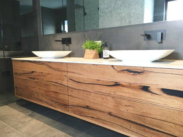 Image Result For Wood Bathroom Vanity